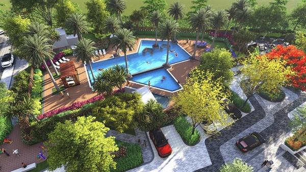 Piciy High Park sở hữu khoảng xanh rộng hơn và hơn 20 tiện ích nội khu tựa resort.