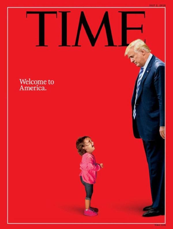 Trong gần 4 năm tại chức, ông Trump xuất hiện trên ảnh bìa của TIME hơn 20 lần, thường là trong các chủ đề phê bình. Ảnh: TIME.