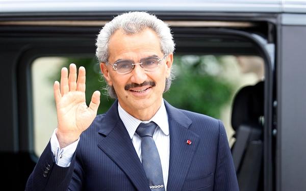 Hoàng tử Alwaleed BinTalal. Ảnh: TechCrunch.