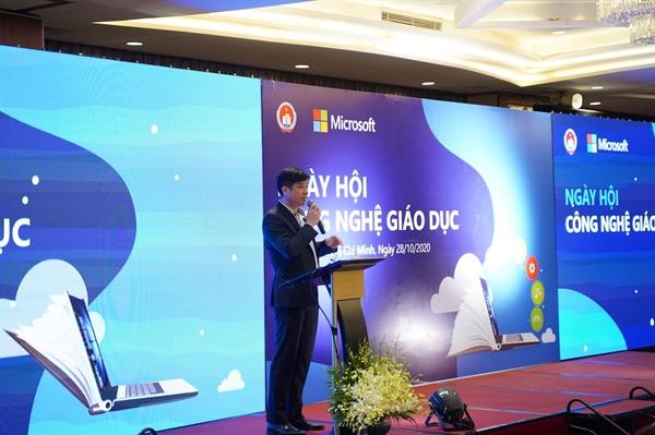 Ông Phạm Thế Trường - Tổng Giám đốc Microsoft Việt Nam