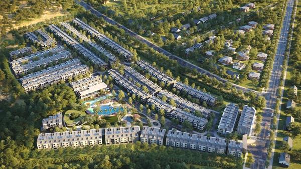Tân Phước Khánh thu hút nhà đầu tư bất động sản trong và ngoài nước.