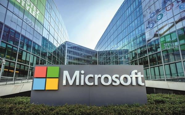 Hình ảnh về Microsoft. Ảnh: TL.