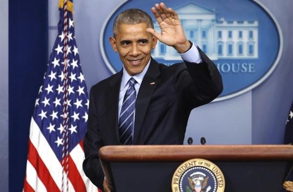 Cựu Tổng thống Mỹ Barack Obama. Ảnh: AP.