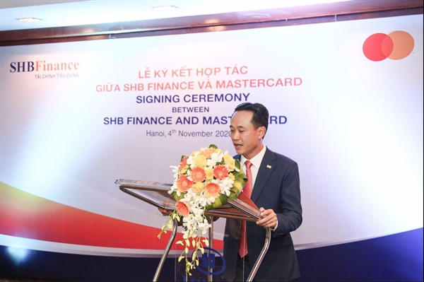 Ông Đinh Quang Huy, Tổng Giám đốc SHB Finance chia sẻ về những cơ hội hợp tác với MasterCard