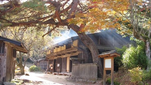 """Một quán trà cổ trên đường Nakasendo, một tuyến đường lịch sử được gọi là """"con đường xuyên núi"""", nối Kyoto với Tokyo. Ảnh: Walk Japan."""