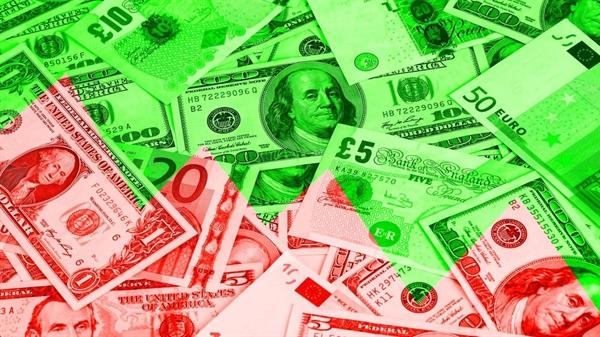 Trong năm 2019, đồng USD vẫn mạnh, đồng euro bị siết chặt do tăng trưởng chậm.  Ảnh: The National News.