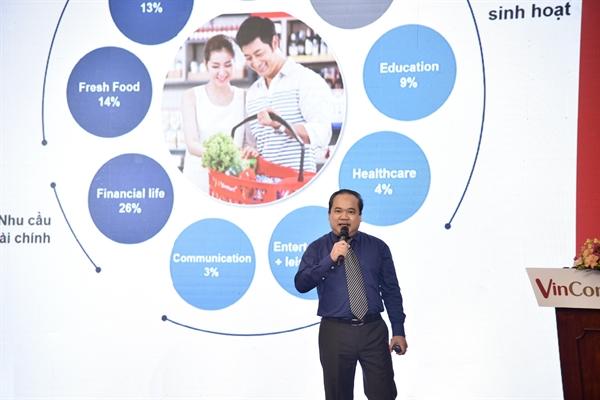 Ông Trương Công Thắng – Tổng Giám đốc VCM chia sẻ tại Hội nghị.