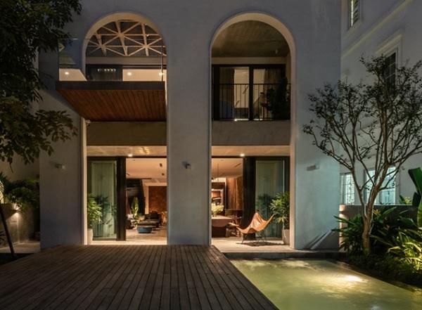 Villa AD8 được thiết kế bởi Nemo Studio, một trong những công trình có thiết kế nội thất xuất sắc chiến thắng tại Giải Thưởng KOHLER Bold Design Awards.