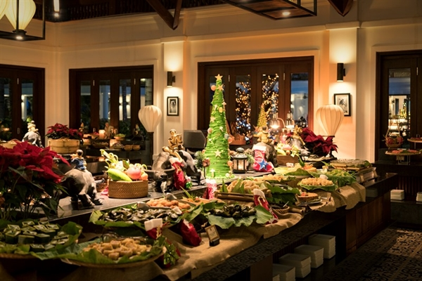 Five-course dinners on Christmas Eve and New Year's Eve, kid's activities including decorating gingerbread and spa packages are among the five-star resort's festivities from Dec. 23. until Jan 3.