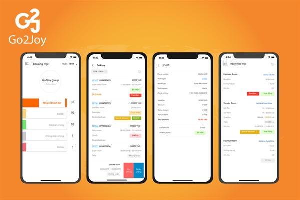 Hệ thống ứng dụng Go2Joy Partner dành cho các doanh nghiệp đối tác