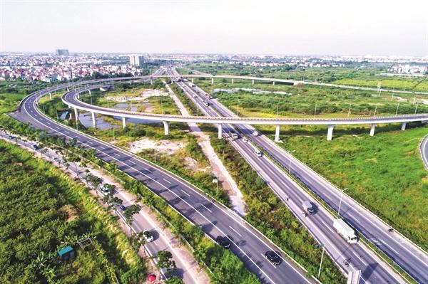 Cao tốc Hà Nội - Hải Phòng.