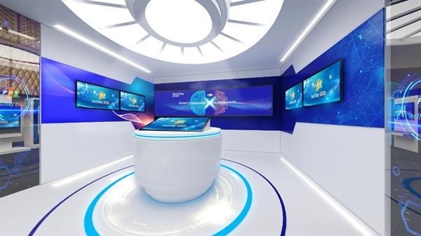 Trung tâm điều hành doanh nghiệp 5.0 tại khu vực Triển lãm của FPT Techday 2020