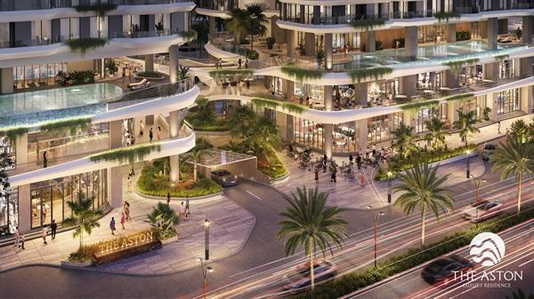 """Dự án The Aston Luxury Residence được giới thiệu vào tháng 10 đã tạo """"tiếng vang"""" lớn trên thị trường bất động sản Nha Trang."""