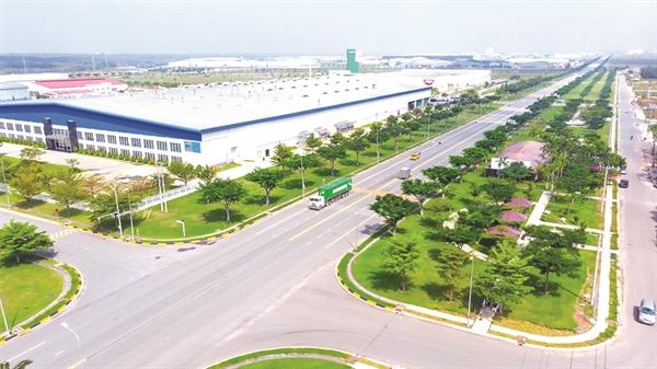 Bất động sản công nghiệp giữ vững được sự sôi động nhờ nguồn vốn đầu tư nước ngoài.