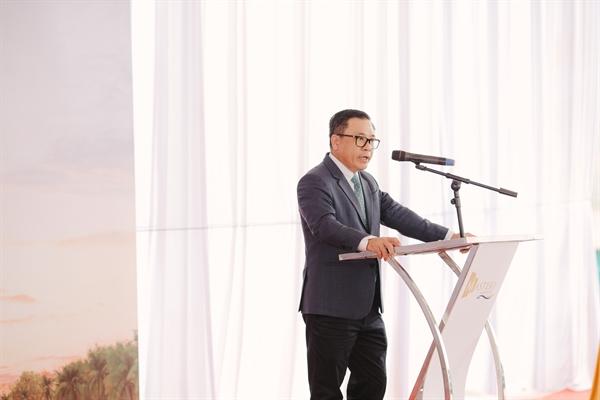 Ông Trần Kim Long – Tổng Giám đốc Newtecons phát biểu tại buổi lễ