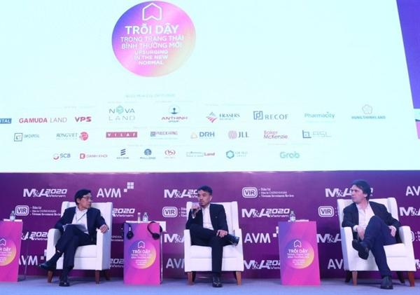 CEO Masan Group – ông Danny Le tại phiên thảo luận của Diễn đàn M&A 2020.