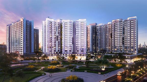 Dự án Westgate tọa lạc tại trung tâm hành chính Tây Sài Gòn