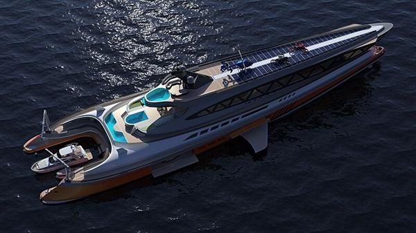 Siêu du thuyền Prodigium. Ảnh: Lazzarini Design Studio.
