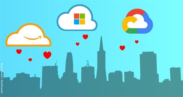 Những gã khổng lồ công nghệ nên để các công ty khởi nghiệp trì hoãn thanh toán qua điện toán đám mây. Ảnh: Techcrunch.