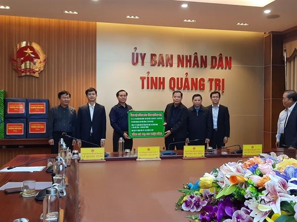 Tập đoàn Masan đồng hành cùng Bộ Y Tế hỗ trợ người dân tại các tỉnh Quảng Bình và Quảng Trị