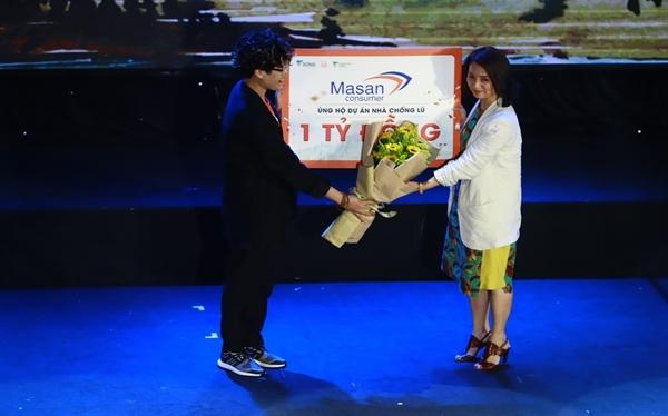 Tập đoàn Masan ủng hộ 1 tỷ đồng cho chương trình Nhà Chống Lũ góp phần xây dựng nhà an toàn cho bà con vùng lũ