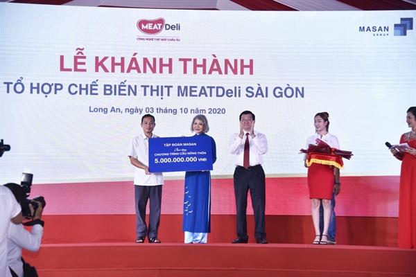 Từ đầu năm đến nay, Tập đoàn Masan đã ủng hộ gần 30 tỷ đồng cho các hoạt động an sinh xã hội