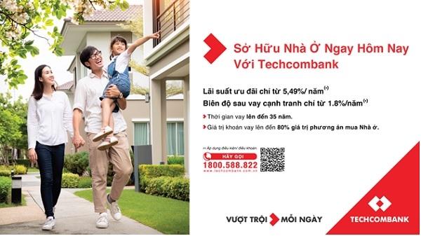 Lãi suất ưu đãi giúp Khách hàng ra quyết định mua nhà dễ dàng hơn.