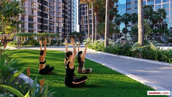 """Làm mới bản thân và lấy lại năng lượng tại """"resort tại gia"""" Diamond Centery."""