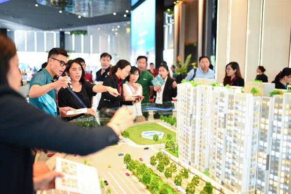 Nhu cầu mua nhà của các gia đình trẻ tại TP.HCM ngày càng tăng cao