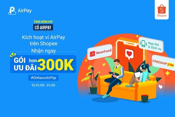 AirPay hỗ trợ người dùng trên khắp tỉnh thành Việt Nam dễ dàng tiếp cận với thanh toán trực tuyến, đồng thời ghi nhận phương thức thanh toán này gia tăng mạnh tại các thành phố Đà Nẵng, Thừa Thiên Huế, Hà Tĩnh