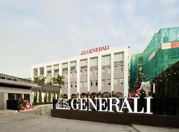 Generali Plaza có không gian rộng mở, thiết kế tinh tế, tiện ích đa dạng cùng trang thiết bị hiện đại.