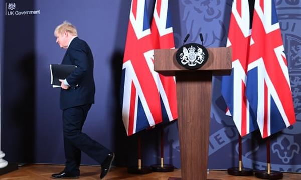 Thủ tướng Boris Johnson cho biết thỏa thuận đã mang lại cho Anh nền tảng cho một mối quan hệ mới thực sự thịnh vượng. Ảnh: WPA.
