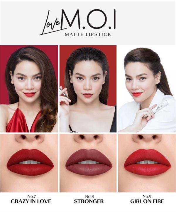 Theo Hồ Ngọc Hà, dù chỉ ra mắt thị trường từ năm 2018, nhưng đến nay đã có hơn 2 triệu sản phẩm M.O.I Cosmetics được tiêu thụ.