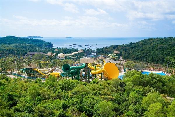Đảo Hòn Thơm thuộc quần đảo An Thới được Sun Group tập trung đầu tư phát triển du lịch.