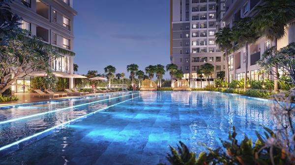 Cư dân Biên Hòa, Đồng Nai đang cần một nơi ở với tiện ích chất lượng và tiện nghi hiện đại nhằm nâng cao chất lượng sống. Ảnh: Phối cảnh dự án Bien Hoa Universe Complex.