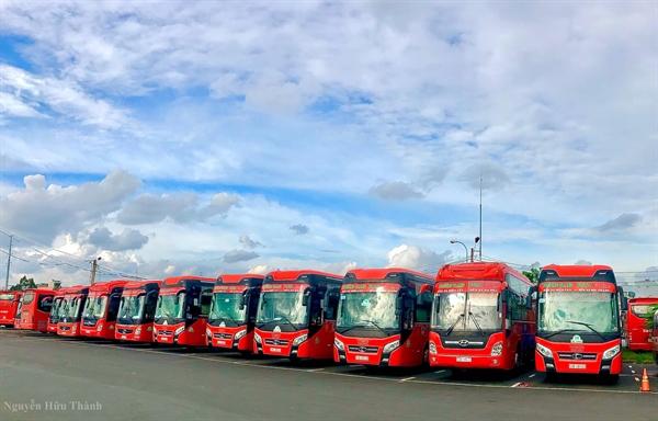 Phương Trang hiện vận hành hơn 60 tuyến vận tải hành khách liên tỉnh cố định trải dài từ Nam ra Bắc.