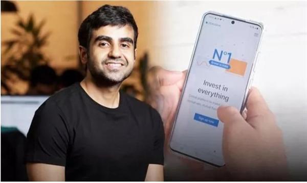 Tỉ phú Nikhil Kamath có giá trị tài sản ròng trị giá 1,55 tỉ USD. Ảnh: Express.