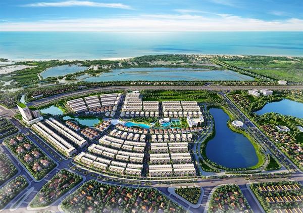 Phối cảnh tổng thể dự án La Vida Residences với hệ thống hạ tầng được chú trọng.