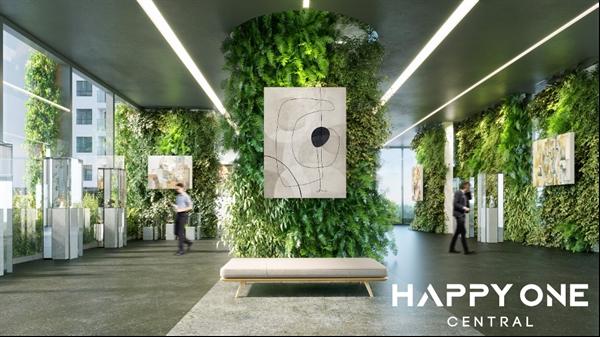 Một góc tiện ích tại khu vực sảnh chung của HAPPY ONE - Central
