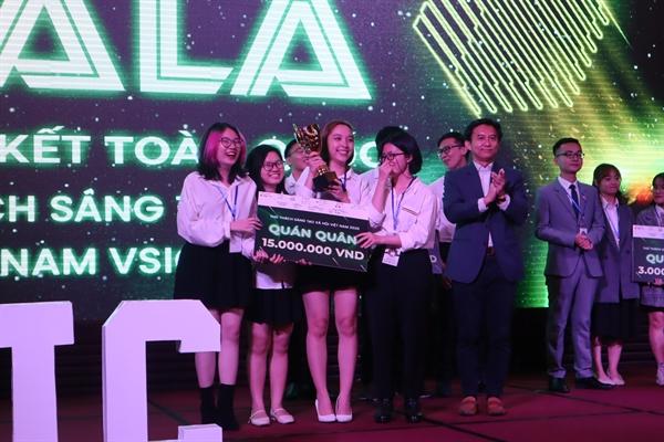 Đội Seesaw Company Vietnam giành giải nhất