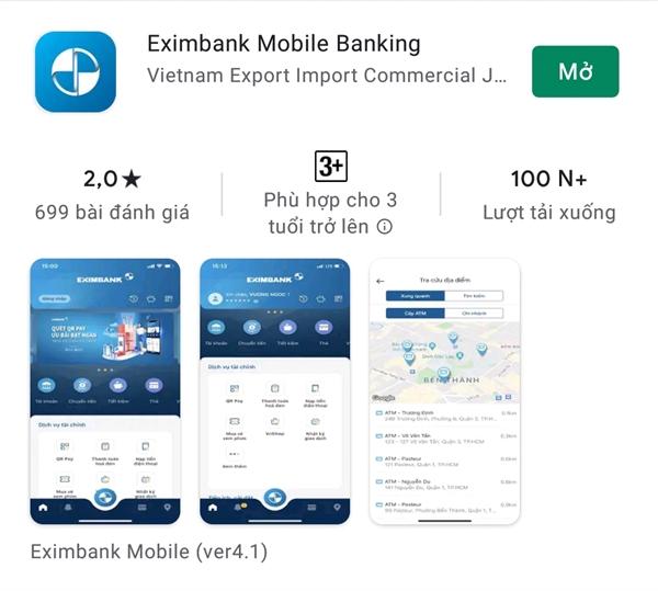 Các trang website giả mạo này có giao diện được sao chép gần giống website Internet Banking của Eximbank nên khách hàng sẽ dễ nhầm lẫn.