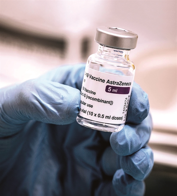Bộ Y tế đã ký quy tắc để mua vaccine AstraZeneca.