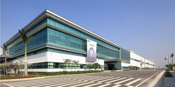 LG Electronics' factory in Haiphong, Vietnam / Courtesy of LG Electronics