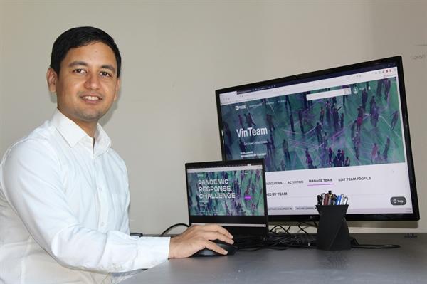 Ông Mudit Jain – Phó Tổng Giám đốc phụ trách Khối Phát triển Sản phẩm của VinBrain tại Mỹ. Ảnh: TL.