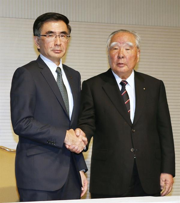 Chủ tịch của Suzuki Motor Corp Osamu Suzuki đã bổ nhiệm con trai cả của mình làm chủ tịch mới sau gần 4 thập kỷ lãnh đạo. Ảnh: The Japan Times.