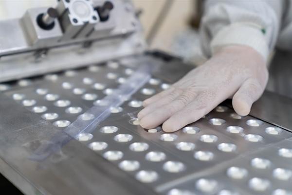 Gần 100 sản phẩm của Dược Hậu Giang được sản xuất trên 2 dây chuyền viên nén và viên nén bao phim đạt tiêu chuẩn Japan-GMP.