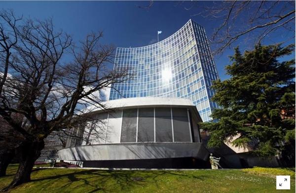Trụ sở của Tổ chức Sở hữu Trí tuệ Thế giới tại Geneva, Thụy Sĩ ngày 3.3.2020. Ảnh: Reuters.