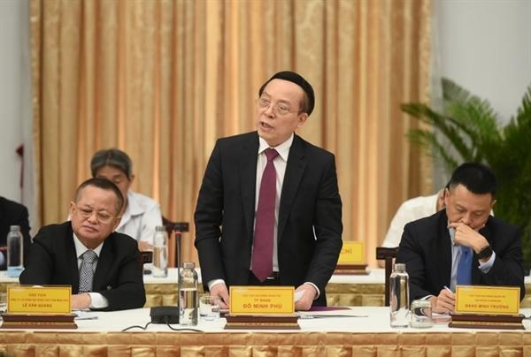 Ông Đỗ Minh Phú, Chủ tịch HĐQT Ngân hàng TPBank
