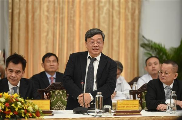 ng Nguyễn Đăng Quang - Chủ tịch Tập đoàn Masan phát biểu tại hội nghị. Ảnh: VGP