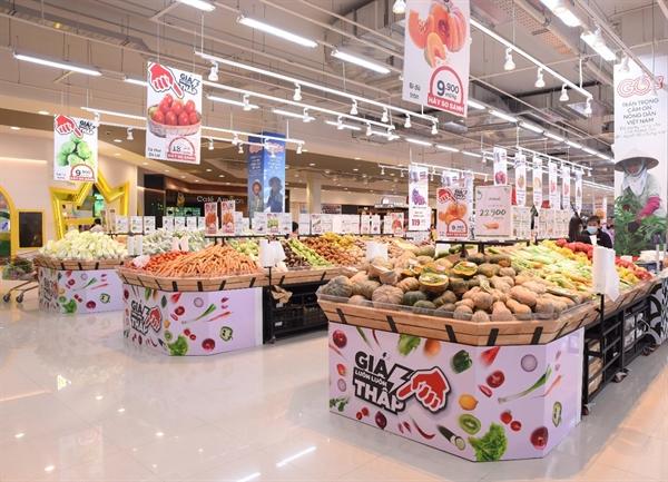 Không gian bên trong Đại siêu thị GO!